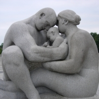Oslo - The Family - Vigeland garden