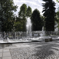 Kosice Square fountain