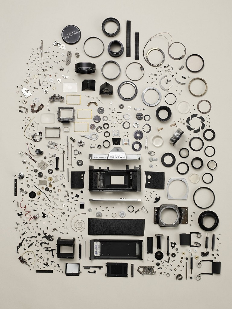 take apart camera (by Todd McLellan)